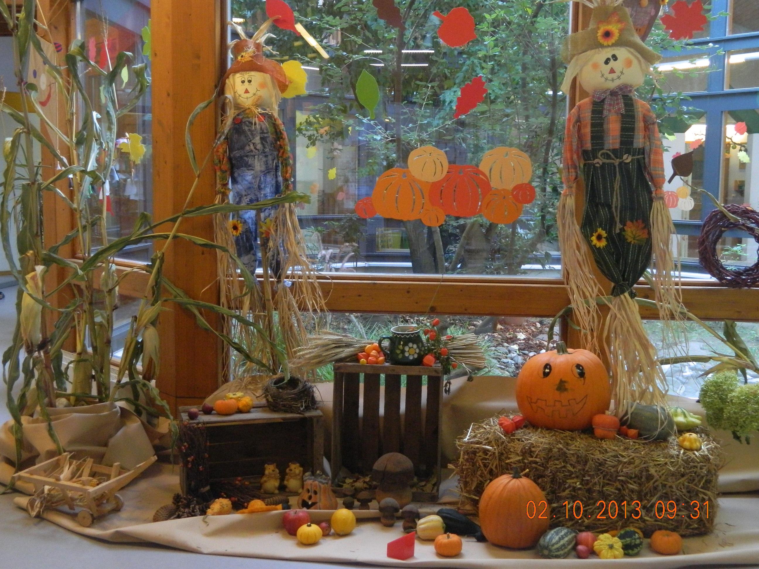 Herbstfr hst ck kindergarten dierdorf for Kinder dekoration