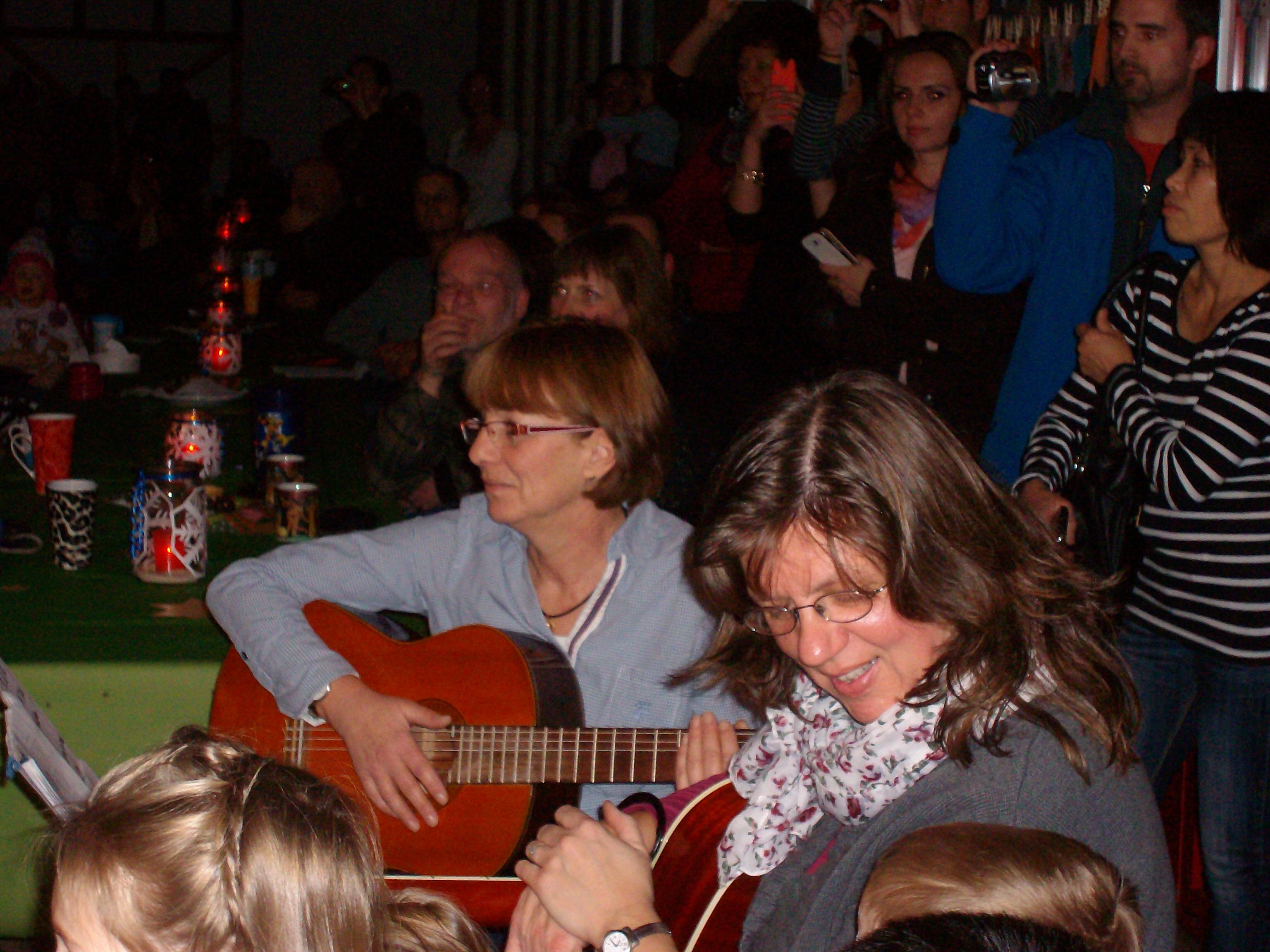 Unsere musikalische Unterstützung.......