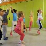.....auch die Kinder der roten Gruppe....sind fit....