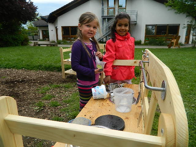 Outdoor Küche Kindergarten : Unsere neuen kinder outdoor küchen sind fertig kindergarten dierdorf